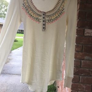 Free people p small top NWT